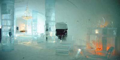 eishotel ishotellet ice hotel eisgeb ude schneegeb ude eisskulpturen. Black Bedroom Furniture Sets. Home Design Ideas